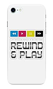 Dreambolic Rewind-&-Play Back Cover for Apple iPhone 7