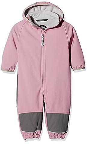 mikk-line Baby-Mädchen Jacke Softshellanzug (Wassersäule 8.000) Rosa (Dusty Rose 516), 104