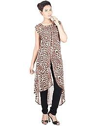Franclo Women's Leopard print Kurti