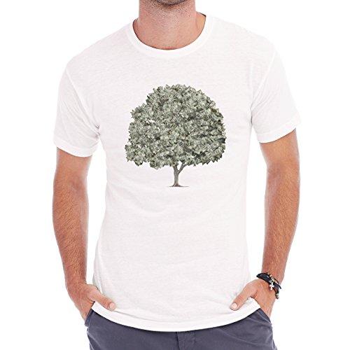 Money Tree Herren T-Shirt Weiß