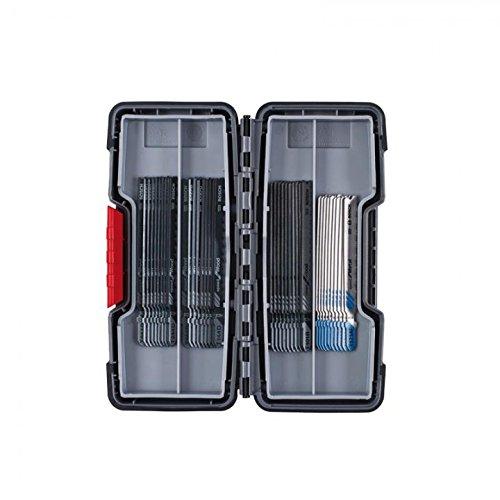 Bosch 2607010904Stichsägeblätter, für Holz und Metall, 40Stück, T 244D (10Stück) / T 144D (10Stück) / T 101B (10Stück) / T 121AF (10 Stück)