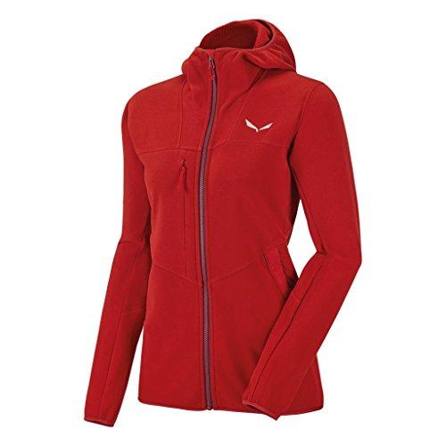 Salewa Antelao PTC W FZ HDY Damen Sweatshirt, Damen, Antelao PTC W Fz HDY, Rot (Feuer / 8670) Ite Pullover Hoodie