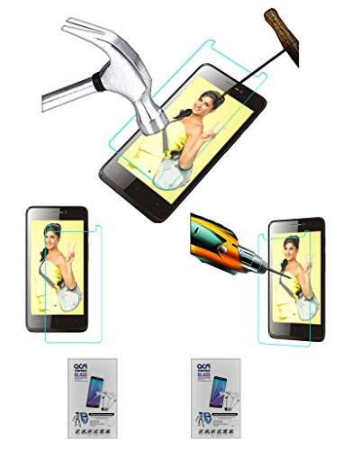 Acm Pack of 2 Tempered Glass Screenguard for Spice Virtuoso Pro+ Mi-492 Screen Guard Scratch Protector  available at amazon for Rs.229
