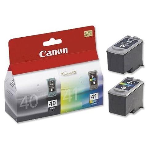 Canon PG-40/CL-41 Inkjet Cartridge Page Life 663pp Black/Colour Ref 0615B036
