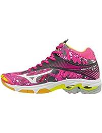 Mizuno Wave Lightning Z4 Mid Wos, Zapatos de Voleibol para Mujer