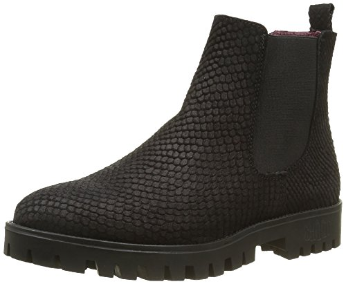 SHOOT Shoot Shoes Sh-215401s, Bottines à doublure froide femme Noir - Noir