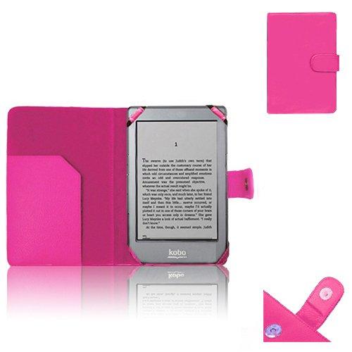 Xtra-Funky Exklusives Caisse D CPU-Modell Lederetui Buch für Kobo eReader Glo