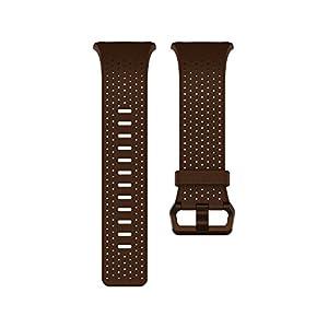 Fitbit Ionic Pulsera de Cuero, Unisex Adulto, Cognac, Small de Fitbit