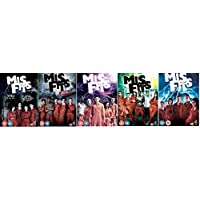 Misfits Complete Channel 4 TV Series All 37 Episodes (12 Disc) DVD Box Set Collection Series 1, 2, 3, 4, 5 + Extras + Gag Reels, Behind the Scenes and many more..