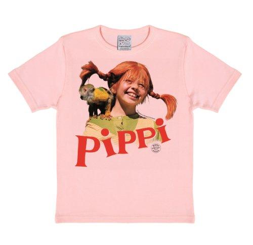 d Pippi-Nilsson, Pink (Pastel Pink), 8-9 Jahre (Astrid Kostüme)