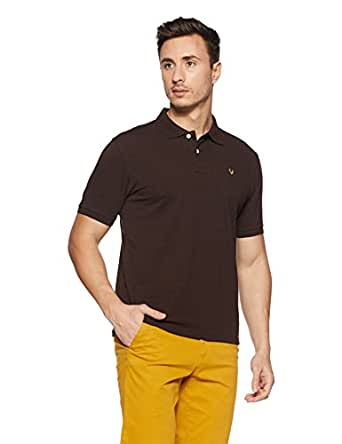 Allen Solly Men's Polo (8907587727325_AMKP317G04243_Small_Coffee Melange)