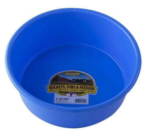 Little Giant p5berryblue Dura-Flex-Kunststoff UTILITY Pfanne, 5-quart, berry blau (Bucket Giant)