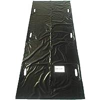 Sunton - Bolsa para cadáver, impermeable, 210D, resistente al viento, 4 unidades, color negro