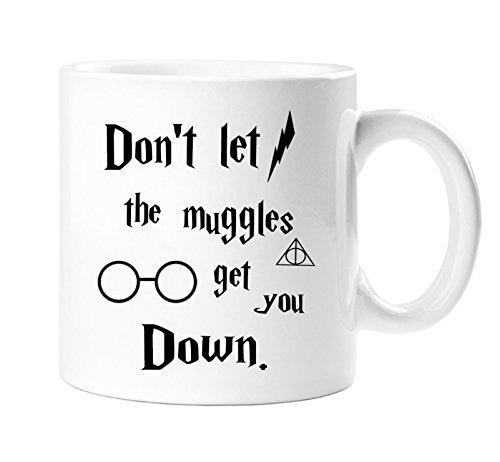 TopSale Keine Aufschrift Don 't Let The Muggles Get You Down Neuheit Harry Potter Tasse–Perfekt Secret Santa Weihnachten Geschenk, Geburtstag Geschenk, Strumpffüller