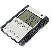 Batería de alimentación números árabes pantalla digital termómetro higrómetro