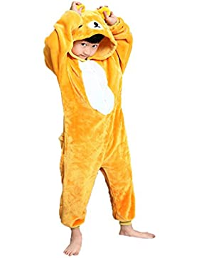 Z-Chen Pigiama Tutina Costume Animale, Bambina e Bambino
