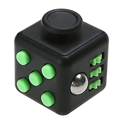 PromiseU Fidget Cube Toy Anxiety Attention Stress Relief Stocking Stuffer Relieves Stress for Children and Adults Christmas Gift