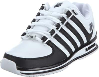 k swiss rinzler 01235 190 m herren sneaker weiss white black eu 39 5 uk 6. Black Bedroom Furniture Sets. Home Design Ideas