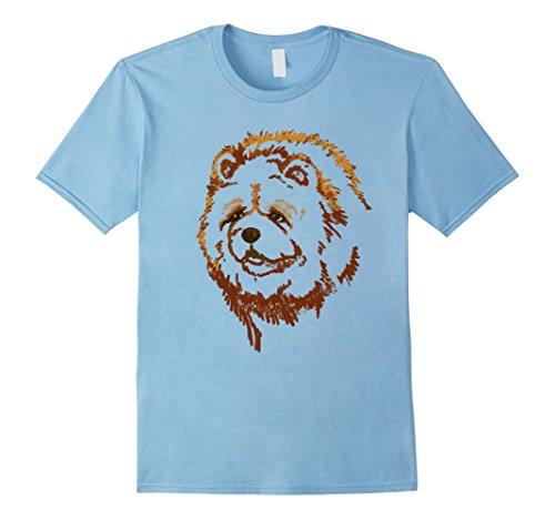 chow-chow-dog-t-shirt-i-love-chow-chow-herren-grosse-2xl-babyblau