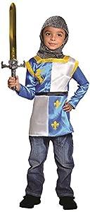 Cesar - F272-003 - Disfraz caballero con espada para niños - 8-10 Años