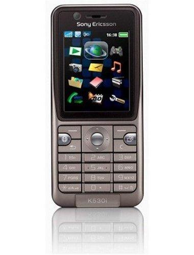 Sony Ericsson K530i warm Silver UMTS Handy