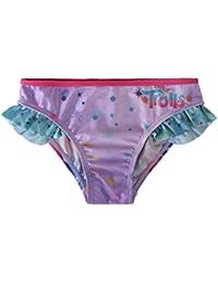 Trolls Poppy, Culetin Baño - Bikini para niñas, color rosa
