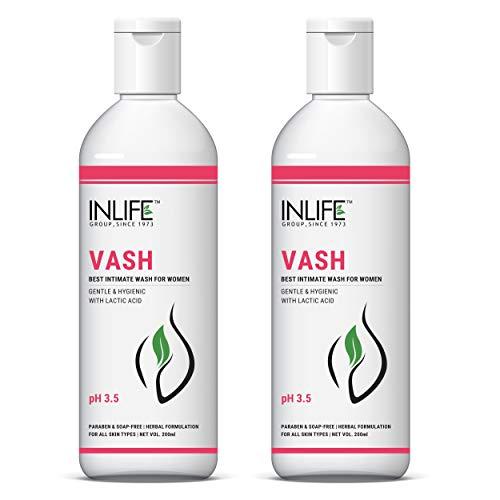 Inlife Vash – Vaginal Wash Intimate Wash -200 ml, (pack of 2)
