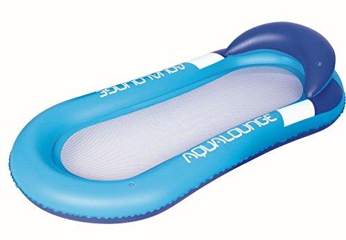 Preisvergleich Produktbild Bestway Luftmatratze Aqua Lounge Netz mit Kopfpolster und Netz