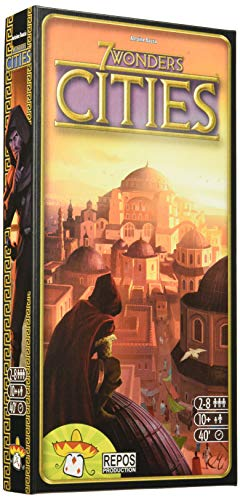 Repos Production- 7 Wonders: Cities (RP7WEX02) (Asmodee