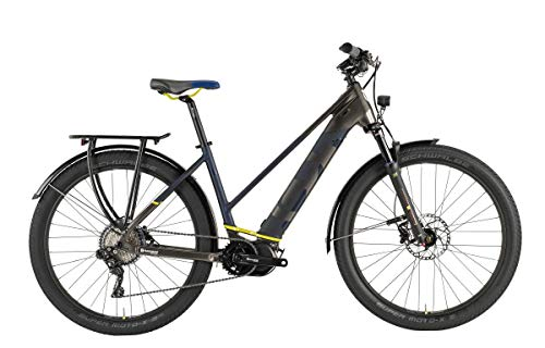 Husqvarna Gran Tourer GT6 Damen Pedelec E-Bike Trekking Fahrrad bronzefarben/blau 2019: Größe: 50cm
