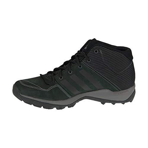adidas Daroga Plus Mid Lea, Herren Sneaker Grün, Schwarz - schwarz - Größe: 44 2/3 EU