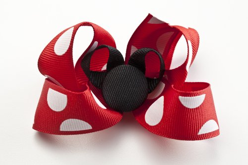 How to make Fabulous Florida Mouse hair bow embellishment for accessories, hair bows, scrap booking and more PDF ebook guide (English Edition) - Mouse Bow