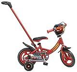 Toimsa- Vélo pour Enfant avec Canne directionnelle sous Licence Cars 3 10' de 2 à 3...