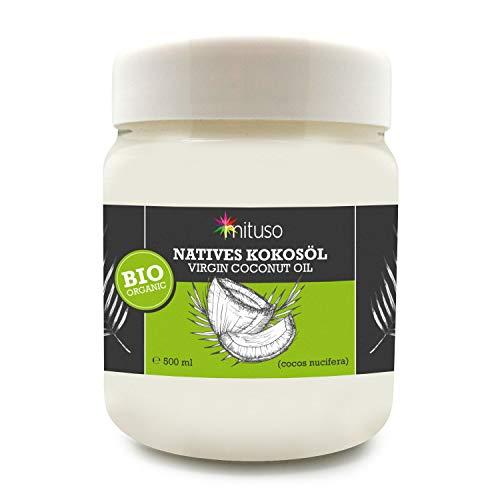 Aceite puro coco virgen extra orgánico mituso 0,5