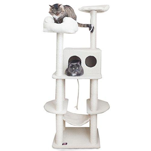 Majestic Pet Products Katzenmöbel/Kratzbaum für Katzen, mehrstufig,