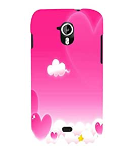 printtech Love Heart Sky Back Case Cover for Micromax Canvas HD A116::Micromax Canvas HD Plus A116Q