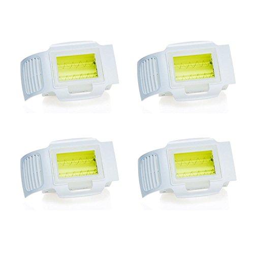 Silk´n SensEpil und Curamed Silk´n Pro Lampeneinsätze | 4er-Set 4 x 1.500 Lichtimpulse insgesamt 6.000 Lichtimpulse | Cartridge | Ersatz-Lichteinsatz | Nachfüll-Kartusche | Silkn Lampeneinsatz (Sensepil Haarentfernung)