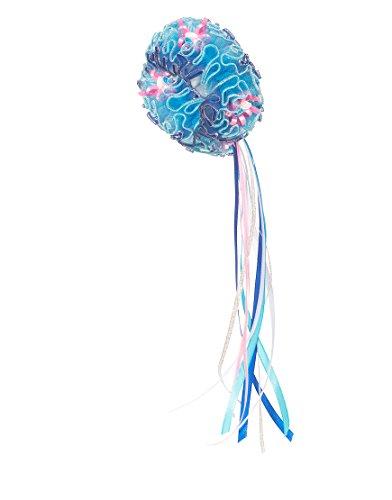 Dreamy Dress-Ups 50354Twister, Royal with Flowers, Armschmuck Haarschmuck mit Blümchen & glitzernden Schleifen (Twister Kids Kostüm)