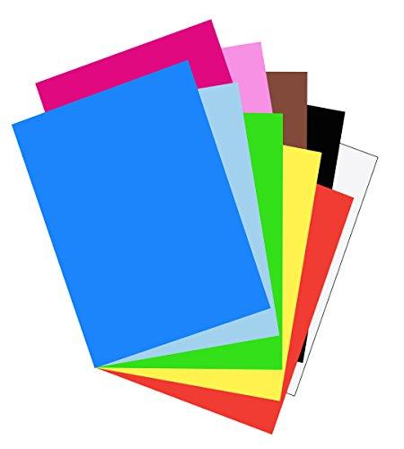 Pacon Bodenholz-Baupapier, 1 Stück Lose-Blätter 18-in. x 24-in. verschiedene Farben (X 24 18 Drafting-papier)