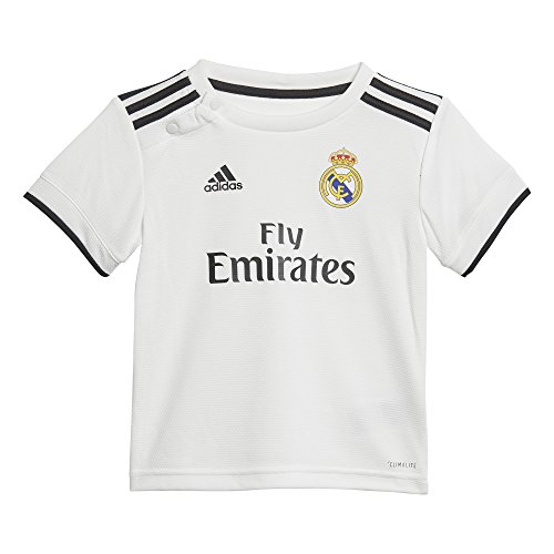 adidas Baby Real Home Mini-heimausrüstung, Core White/Black, 86