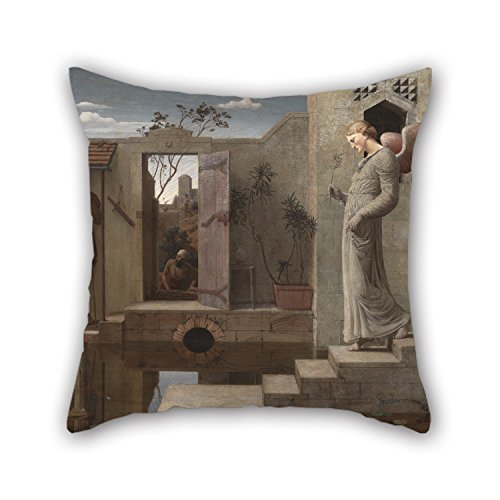 16 X 16 Inches / 40 By 40 Cm Oil Painting Robert Bateman - The Pool Of Bethesda Pillow Cases ,2 Sides Ornament And Gift To Home Theater,kids Boys,floor,wedding,him,shop