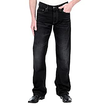 Mustang Herren Jeans, Männerjeans Bootcut 3173 5499 481 Used Black - Regular Fit, Zip Fly, Größe:W30/L34