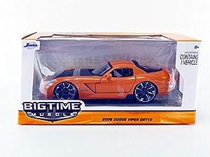 Jada Toys-Coche en Miniatura de colección, 96805or _ M8, Naranja/Negro