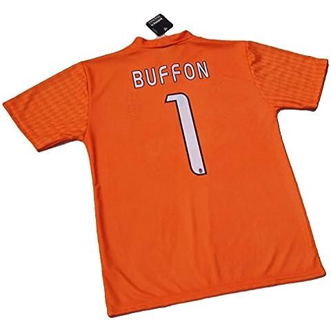 BUFFON DEL EQUIPO DE FÚTBOL JUVENTUS DE TURÍN-CAMISETA OFICIAL, TALLA DE NIÑO RÉPLICA 2016-17 12 AÑOS 10 8 GIGI 1 6 4, come da
