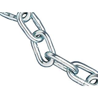 Pike & Co® [ATARAXY Branded] A Link Metal Chain 8mm 10 Metre Reel [Pack of 1] - Min 3yr Warranty