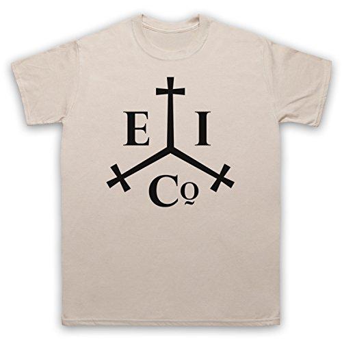 Taboo East India Company Herren T-Shirt Beige