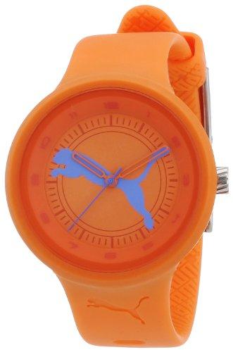 Puma Time Damen-Armbanduhr Slick - Big Cat Analog Quarz Plastik PU910682018 (Puma Slick)