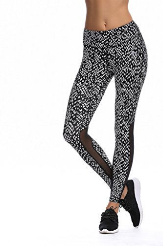 Jimmy Design, legging stretch pour femme Pro-Black