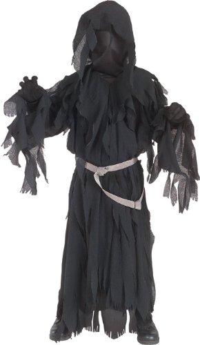Herr der Ringe: Nazgul Ringwraith Kostüm Kinder schwarz, Größe: L - 140cm