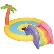 Redondo Piscinas para NiñOs Inflables TobogáN Adultos Familia Hinchables Juegos PequeñOs Profundidad Bathtub Jardin Al Aire